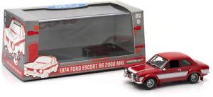 【送料無料】模型車 モデルカー スポーツカー ライトフォードエスコートgreenlight 1974 ford escort rs 200 mki limited edition 143 n17