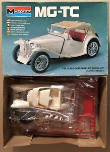 【送料無料】模型車 モデルカー スポーツカー モノグラムスポーツカープラスチックキットmonogram 2290 mgtc british sport car 124 plastic kit