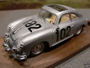 【送料無料】模型車 モデルカー スポーツカー ハムシルバーポルシェクーペ143 brumm r144 porsche 356 silber coup startn102