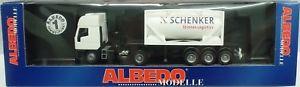 【送料無料】模型車 モデルカー スポーツカー albedo nr200109 iveco eurostar tankcontainersz schenker stinnes ovp