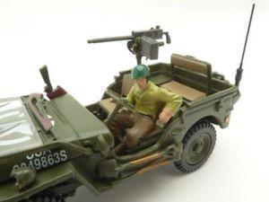 【送料無料】模型車 モデルカー スポーツカー ジープjeep willys soldat mitraillette 143 ww2