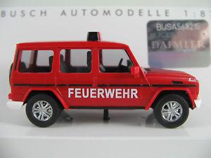 【送料無料】模型車 モデルカー スポーツカー ブッシュベンツクラスbusch 51459 mercedesbenz gklasse 2008 feuerwehr in rot 187h0 neuovp