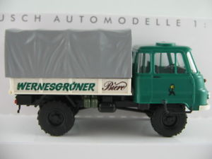 【送料無料】模型車 モデルカー スポーツカー ブッシュプラットフォームbusch 50239 robur lo 2002 a pritscheplane 1973wernesgrner 187h0 neuovp