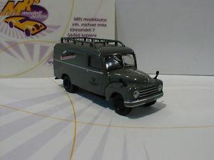 【送料無料】模型車 モデルカー スポーツカー スターラインボックスbrekina starline 58151 hanomag l 28 kasten deutsche bundespost 187