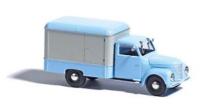 【送料無料】模型車 モデルカー スポーツカー トロリーbusch 52001 framo v9012 kerwagen, blauwei 187 h0