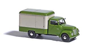 【送料無料】模型車 モデルカー スポーツカー トロリーグリーンベージュbusch 52000 framo v9012 kerwagen, grnbeige 187 h0