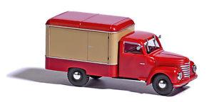 【送料無料】模型車 モデルカー スポーツカー トロリーレッドベージュホbusch 52002 framo v9012 kerwagen rotbeige ho 187 neu
