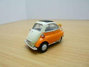 【送料無料】模型車 モデルカー スポーツカー オレンジbmw isetta orange 143