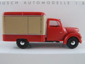 【送料無料】模型車 モデルカー スポーツカー ブッシュベージュトロリーbusch 52002 framo v9012 kerwagen 1957 in rotbeige 187h0 neuovp
