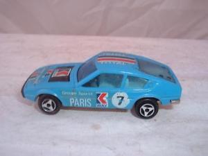 【送料無料】模型車 モデルカー スポーツカー ビンテージパリvintage majorette matra simca bagheera paris groupe sportif in used see pics