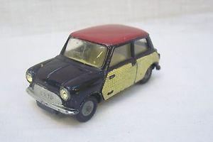 【送料無料】模型車 モデルカー スポーツカー ビンテージモーリスミニクーパーグアテマラvintage corgi toys 249 morris mini cooper car made in gt britain