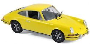 【送料無料】模型車 モデルカー スポーツカー ポルシェレモンイエローnorev 143 1973 porsche 911 s 24 lemon yellow nv750056 ex display