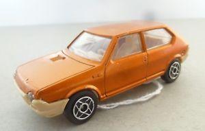 【送料無料】模型車 モデルカー スポーツカー フランスクーガーモデルフィアットストラーダドアセダンオレンジfrench dinky toys cougar models fiat ritmostrada four door saloon car orange