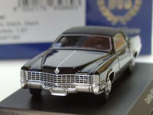 【送料無料】模型車 モデルカー スポーツカー ボスキャデラックエルドラドbos cadillac eldorado, schwarz 87185 187