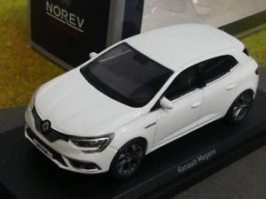 【送料無料】模型車 モデルカー スポーツカー ルノーメガーヌホワイト143 norev renault megane 2016 wei 517721