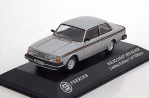 【送料無料】模型車 モデルカー スポーツカー トリプルボルボサロンシルバー143 triple 9 volvo 242 gt saloon 1978 silver
