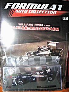 【送料無料】模型車 モデルカー スポーツカー ウィリアムズマルドナド#パンフレットフォーミュラカーコレクション143 williams fw34 maldonado 18 2012 brochure n 89 formula 1 auto collection