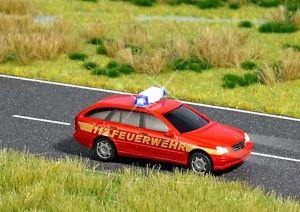 【送料無料】模型車 モデルカー スポーツカー メルセデスクラスモデルbusch 5614 mercedes cklasse tmodell feuerwehr