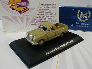【送料無料】模型車 モデルカー スポーツカー ショーメルセデスベンツbest of show 87065 mercedesbenz 180 w120 bakkie baujahr 1956 in grn 187