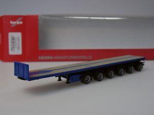 【送料無料】模型車 モデルカー スポーツカー トレーラーherpa nooteboom ballasttrailer 6achs, blau 076715002 187