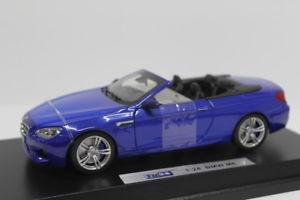 【送料無料】模型車 モデルカー スポーツカー bmw m6 convertilble blue 124 jc8505bl