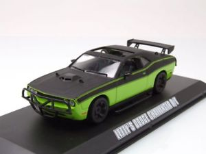 【送料無料】模型車 モデルカー スポーツカー ダッジチャレンジャーモデルカーグリーンライトdodge challenger rt 2014, letty fast amp; furious, modellauto 143 greenlight