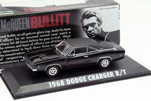【送料無料】模型車 モデルカー スポーツカー ムービーグリーンライトスティーブマックイーンneues angebotdodge charger r t steve mcqueen aus dem film bullitt 1968 143 greenlight