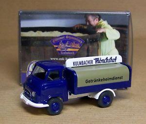 【送料無料】模型車 モデルカー スポーツカー モデルホームサービスneues angebotwiking sondermodell hanomag kurier kulmbacher mnchshof getrnkeheimdienst