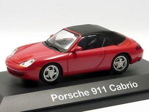 【送料無料】模型車 モデルカー スポーツカー ポルシェカブリオレレッド#schuco 143 porsche 911 cabrio rot 04461