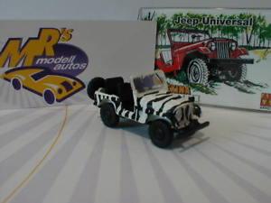 【送料無料】模型車 モデルカー スポーツカー ジープサファリユニバーサルエディションノベルティーarwico brekina 58903 jeep universal safari  edition 187 neuheit