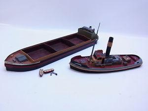 【送料無料】模型車 モデルカー スポーツカー ホポートボート51530 zwei ho 187 binnenschiff schlepper boote schiffe fr fluss oder hafen