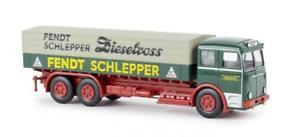 【送料無料】模型車 モデルカー スポーツカー トラックパレットターポリントウbrekina lkw bssing 12000 pritscheplane fendtschlepp1
