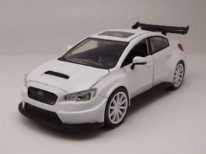 【送料無料】模型車 モデルカー スポーツカー モデルカーsubaru wrx sti wei fast amp; furious 8, modellauto 124 jada toys