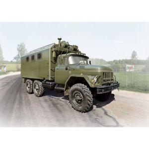 【送料無料】模型車 モデルカー スポーツカー ソicm icm35517 zil131 kshm soviet army vehicle 135