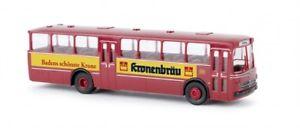 【送料無料】模型車 モデルカー スポーツカー バスクラウン187 brekina mb o 317 k bahnbus kronenbru 59045