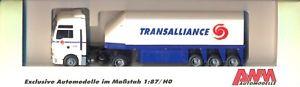【送料無料】模型車 モデルカー スポーツカー トランスアライアンスローダーawm 74224 transalliance f man tg x xxl   innenlader