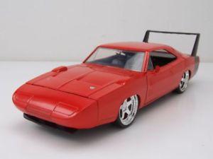 【送料無料】模型車 モデルカー スポーツカー デイトナオレンジメタリックモデルカーdodge charger daytona 1969 hemi orange metallic, modellauto 124 jada toys