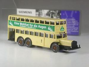 【送料無料】模型車 モデルカー スポーツカー スプレンディッドベルリンモデルバスherrlich wiking werbemodell berlin d38 bus siemens wohltat fr die augen in ovp