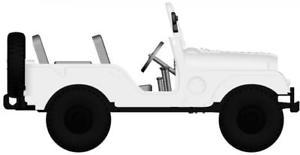 【送料無料】模型車 モデルカー スポーツカー ジープユニバーサルホワイトbrekina pkw jeep universal, wei 58902