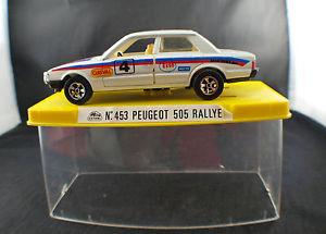 【送料無料】模型車 モデルカー スポーツカー プジョーラリー#ヌフミントguisval n453 peugeot 505 rallye 4 132 neuf en boiteboxed mint