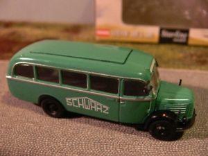 【送料無料】模型車 モデルカー スポーツカー 187 brekina steyr 380i schwarzbau 58006