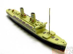 【送料無料】模型車 モデルカー スポーツカー モデルベージュスケールwiking modell14000 brt metallguss passagierschiff in beige mastab 11250