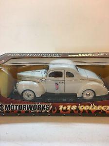 【送料無料】模型車 モデルカー スポーツカー フォードクーペmotor works 118 1940 ford coupe