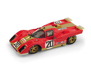 【送料無料】模型車 モデルカー スポーツカー フェラーリアメリカレーシングチームセブリングハムferrari 512m young american racing team 12h sebring 1971 brumm r548