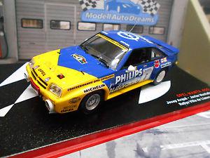 【送料無料】模型車 モデルカー スポーツカー オペルマンタラリースペインジャネス#フィリップスネットワークopel manta b 400 rallye spain llanes 6 arque philips 1986 hella ixo altaya 143