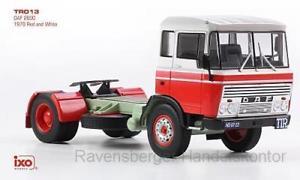 【送料無料】模型車 モデルカー スポーツカー ネットワークixo 143 daf 2600 1970 redwhite