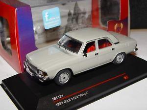 【送料無料】模型車 モデルカー スポーツカー ボルガモデルneues angebotgaz volga 3102 1983 143 ist models