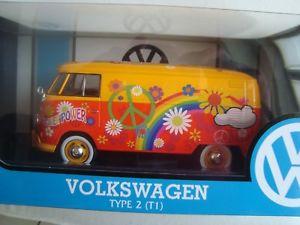 【送料無料】模型車 モデルカー スポーツカー ミニチュアフォルクスワーゲンタイプエンジンヌフminiature volkswagen t1 type 2 power flower 124 motor max neuf