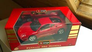 【送料無料】模型車 モデルカー スポーツカー フェラーリモデナクーペモデルカーferrari 360 modena coupe 1999 3358 modellauto 118 bburago in ovp