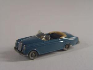 【送料無料】模型車 モデルカー スポーツカー メルセデスカブリオホモデルmercedes 220 cabrio wiking ho 187 modell  41 e gebr